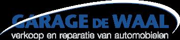 Logo Garage C. de Waal